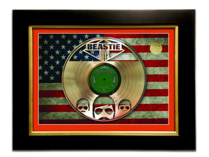 Limited Edition Gold Laser Lp 'Beastie Boys - Ill Communication' Custom Frame