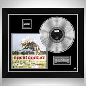 Beck Odelay Platinum LP Limited Signature Edition Studio Licensed Custom Frame