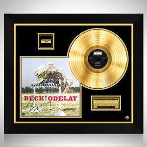 Beck Odelay Gold LP Limited Signature Edition Studio Licensed Custom Frame