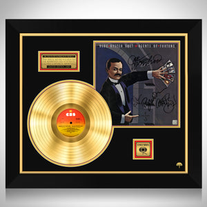 Blue Öyster Cult Agents of Fortune Limited Signature Edition Studio Licensed Gold LP Custom Frame