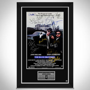 The Blues Brothers Movie Mini Poster Limited Signature Edition Studio Licensed Custom Frame
