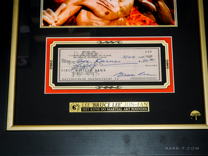RARE-T Exclusive Limited Edition 'BRUCE LEE - SIGNATURE SERIES' Custom Frame
