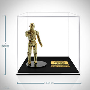 Star Wars 1977 - C-3Po' Generation 1 Statue Custom Museum Display