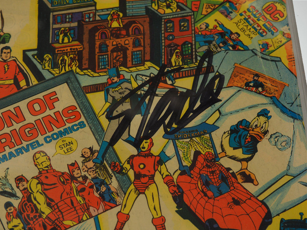 CGC Signature Series 'THE SUPERHERO #1 1977 THE YEAR-3.0 HANDSIGNED BY STAN LEE'