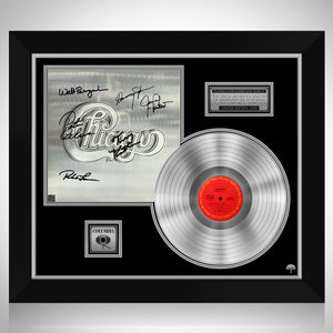 Chicago - Self Titled Platinum LP Limited Signature Edition Studio Licensed Custom Frame