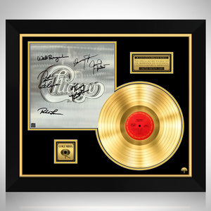 Chicago - Self Titled Gold LP Limited Signature Edition Studio Licensed Custom Frame