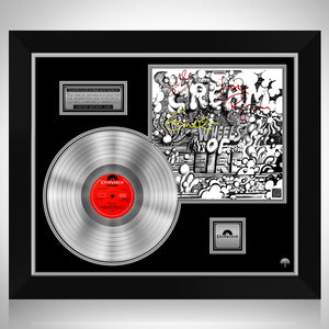 Cream - Wheels on Fire Platinum LP Limited Signature Edition Studio Licensed Custom Frame