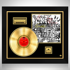 Cream - Wheels on Fire Gold LP Limited Signature Edition Studio Licensed Custom Frame