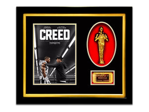 Creed - Gold Oscar Limited Edition Custom Frame