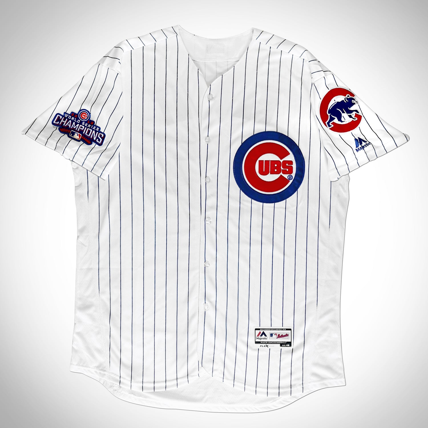 new products 9d9ac 6f32c Kris Bryant- Hand-Signed Chicago Cubs World Series Jersey by Kris Bryant