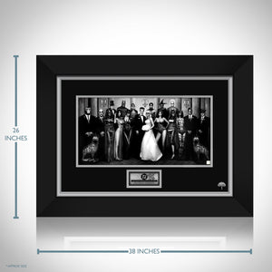 Dc Wedding Hand-Signed Artwork Print By Artist Nathan Szerdy Custom Frame.