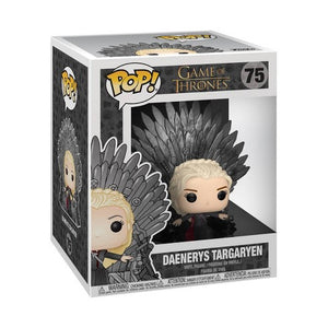 Game Of Thrones- Daenerys On Iron Throne Funko Pop #75