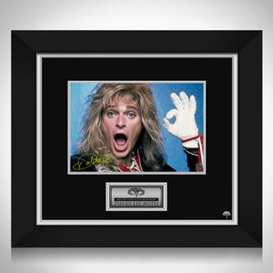 Van Halen - David Lee Roth Photo Limited Signature Edition Studio Licensed Custom Frame