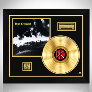 Dead Kennedys 'Fresh Fruit For Rotting Vegetables' Limited Edition Licensed Gold Lp Custom Frame