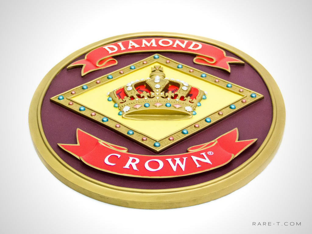 DIAMOND CROWN CIGAR Bar Sign - RARE-T