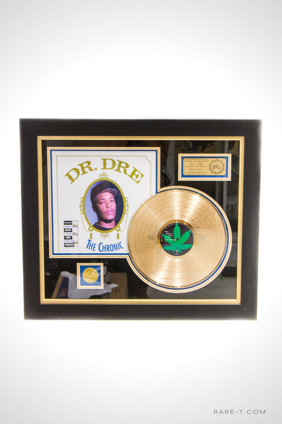 RARE-T Exclusive | 'DR. DRE - THE CHRONIC LYRICS' GOLD LP