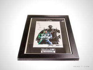 RARE-T Exclusive | 'THE PUNISHER SIGNED ZECK ART PRINT' Custom Frame