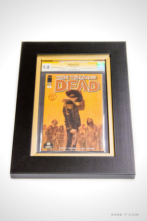 RARE-T Exclusive | #1 WALKING DEAD CGC 9.8 - Signed by TEDESCO