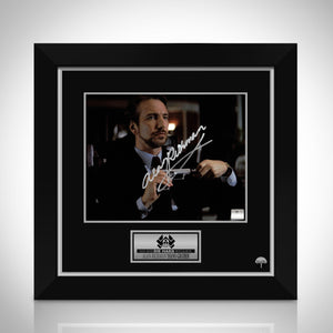 Die Hard - Hand-Signed Photo By Alan Rickman Custom Frame