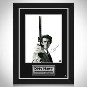 Dirty Harry Mini Poster Limited Signature Edition Studio Licensed Custom Frame