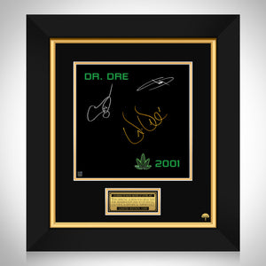 Dr. Dre - 2001 LP Cover Limited Signature Edition Studio Licensed Custom Frame