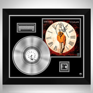 Dwight Yoakam - This Time Platinum LP Limited Signature Edition Studio Licensed Custom Frame