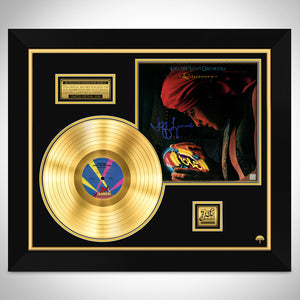 ELO Discovery Limited Signature Edition Studio Licensed Gold LP Custom Frame