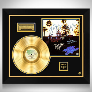 The Eagles Hotel California Gold LP Limited Signature Edition Studio Licensed Custom Frame