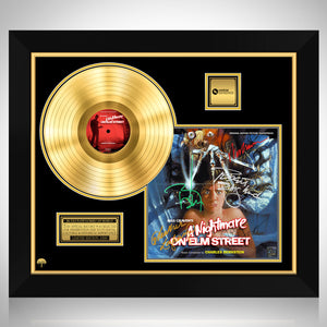 A Nightmare on Elm Street - Soundtrack Gold LP Limited Signature Edition Studio Licensed Custom Frame