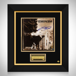 Eminem Marshall Mathers LP Cover Limited Signature Edition Studio Licensed Custom Frame