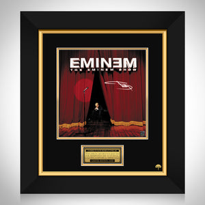 Eminem - The Eminem Show LP Cover Limited Signature Edition Studio Licensed Custom Frame