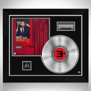 Eminem Music to be Murdered Platinum LP Limited Signature Edition Studio Licensed Custom Frame