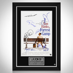 Forrest Gump Limited Signature Edition Studio Licensed Movie Mini Poster Custom Frame