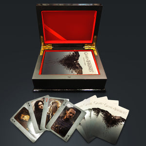 Game Of Thrones- Second Limited Edition Playing Cards