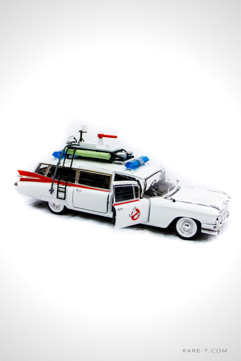 Collectors 'GHOSTBUSTERS ECTO-1' Die-Cast Car | RARE-T
