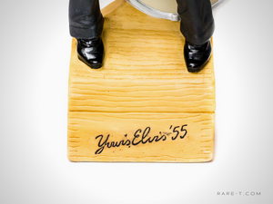 Collectors Series 'YOUR'S ELVIS '55' Decanter/Statue/Music Box