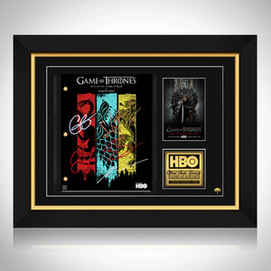 Game Of Thrones- Limited Signature Edition Studio Licensed Script Custom Frame