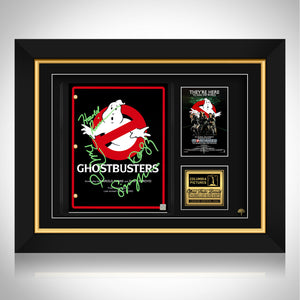 Ghostbusters Script Limited Signature Edition Studio Licensed Custom Frame