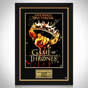 Game Of Thrones Crown Limited Signature Edition Studio Licensed Mini Poster Custom Frame