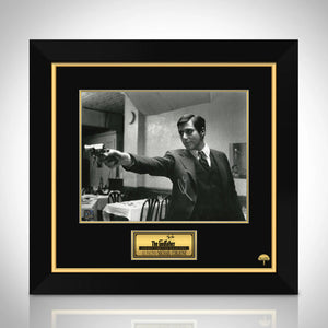 The Godfather - Michael Corleone Limited Signature Edition Studio Licensed Movie Mini Poster Custom Frame