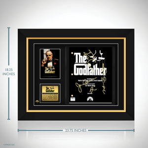The Godfather - Hand-Signed Script by Cast Members & Francis Ford Coppola  Custom Frame