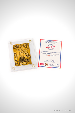 1995 Limited Edition 'BOBBY ORR BRONZE CARD'