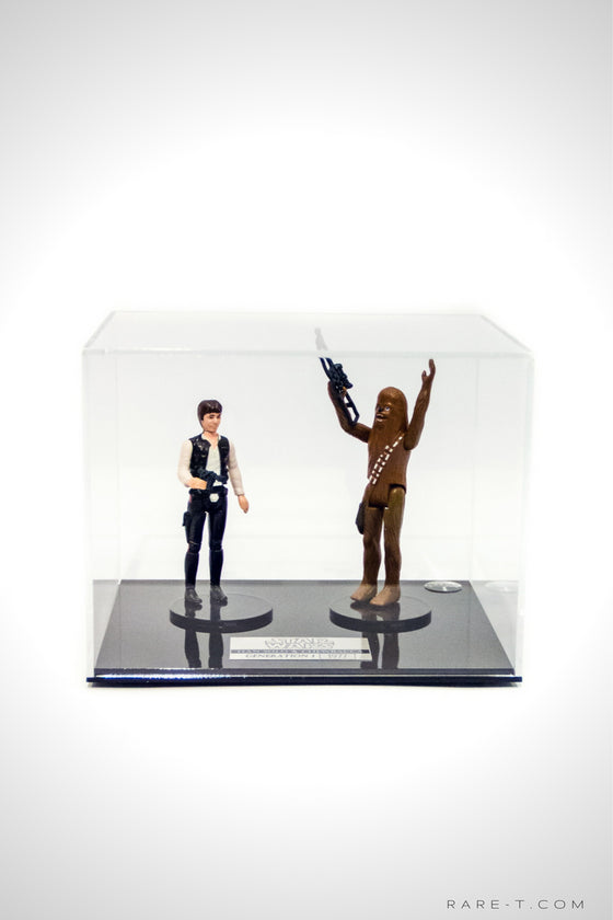 RARE-T Exclusive | 1977 STAR WARS - HAN SOLO & CHEWBACCA Display