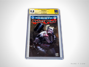 CGC Signature Series 'HARLEY QUINN #1-9.8 HANDSIGNED BY AMANDA CONNER & JIMMY PALMIOTTI'