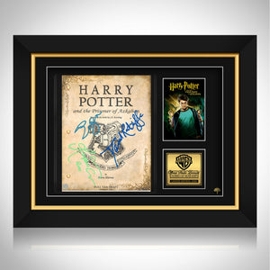 Harry Potter & the Prisoner of Azkaban Limited Signature Edition Studio Licensed Script Custom Frame