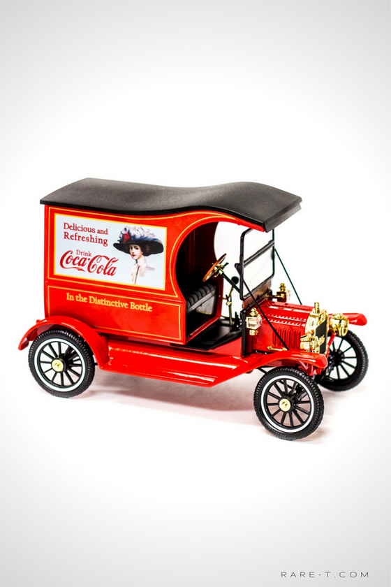 Collectors 'COCA-COLA - 1917 FORD MODEL T CARGO VAN' Die-Cast Car
