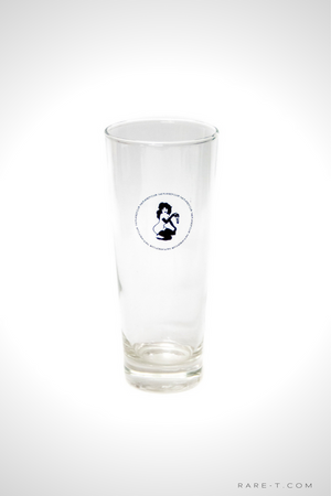 Set of 2 Authentic Vintage 'THE PLAYBOY CLUB - Playmate in Lingerie' Tumbler Glasses