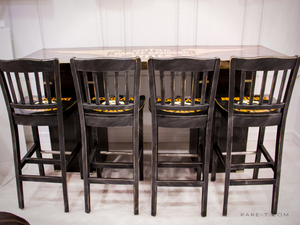 RARE-T Exclusive 'HARLEY-DAVIDSON BAR & 4 STOOLS' Custom Furniture