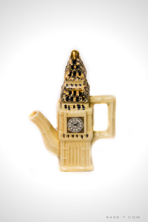 Vintage 'GREAT BRITISH POTTERY - BIG BEN' - Mini Teapot