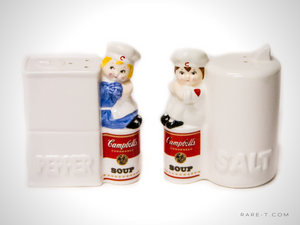 Vintage '1996 CAMPBELLS SOUP' Salt & Pepper Shacker